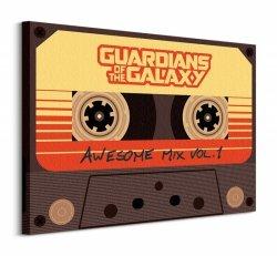 Guardians Of The Galaxy (Awesome Mix Vol 1) - Obraz na płótnie