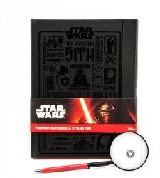 Star Wars Gwiezdne Wojny - notes A5