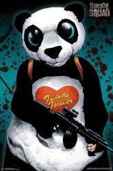 Legion Samobójców Panda Friends Forever - plakat
