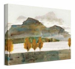 Autumn Trees Ii - Obraz na płótnie