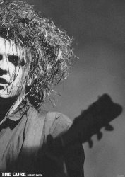 The Cure Robert Smith - plakat