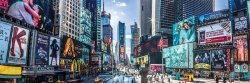 New York Times Square Panorama - plakat