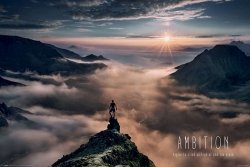 Ambition - plakat motywacyjny