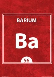 Barium BA 56 - plakat A3