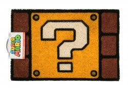 Wycieraczka wejściowa - Super Mario Question Mark Block