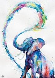 Elephant - plakat