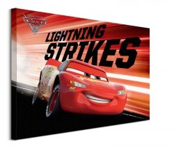 Cars 3 Lightning Strikes - obraz na płótnie