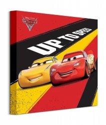 Cars 3 Up To Speed - obraz na płótnie