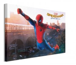 Spider-Man Homecoming Swing - obraz na płótnie