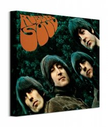 The Beatles Rubber Soul - obraz na płótnie