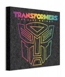 Transformers The Last Knight Retro Autobot - obraz na płótnie