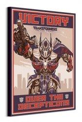 Transformers The Last Knight Victory - obraz na płótnie
