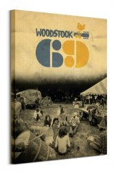 Woodstock 69 - obraz na płótnie