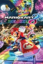 Mario Kart 8 (Deluxe) - plakat gamingowy