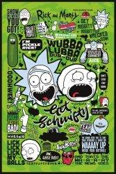 Plakat na ścianę - Rick and Morty (Quotes)