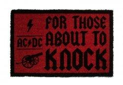 AC/DC (For Those About To Knock) - wycieraczka