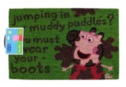 Świnka Peppa: Muddy Puddles - wycieraczka
