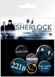 Sherlock - przypinki