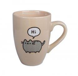 Pusheen says Hi - kubek do latte
