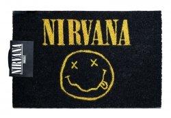 Wycieraczka wejściowa - Nirvana Smiley - 40x60 cm.