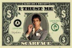 Scarface (dollar) - plakat