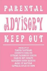 Parental Advisory (Girly) - plakat