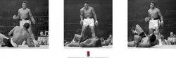Muhammad Ali (Liston Triptych)  - plakat