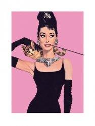 Audrey Hepburn (Róż) - reprodukcja