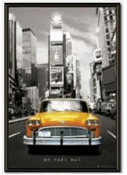 Obraz w ramie - New York taxi no 1