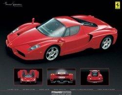 Ferrari (Enzo) - plakat