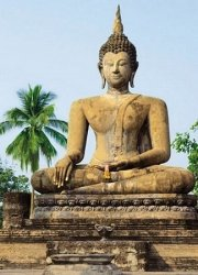 Fototapeta na ścianę - Sukhothai, Wat Sra Si Temple - 183x254cm