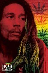 Bob Marley (Dreads) - plakat