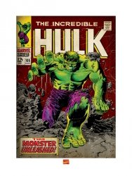 Incredible Hulk (Monster Unleashed) - reprodukcja
