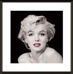 Obraz w ramie - Marilyn Monroe Red Lips