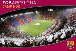 Barcelona (Nou Camp) - plakat