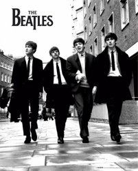 The Beatles (in London) - plakat