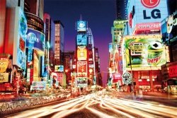 New York (Times Square) - plakat
