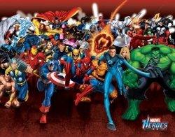 Marvel Heroes (Attack) - plakat