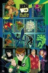 Ben 10 - Alien Force (Characters)  - plakat