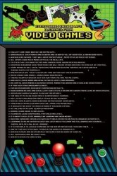 I Learned From Video Games - plakat
