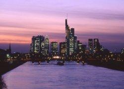 Fototapeta na ścianę - Frankfurt skyline - 254x183 cm