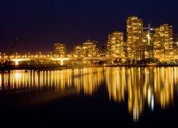 Fototapeta na ścianę - Złote Vancouver - 254x183 cm