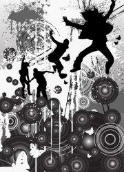 Fototapeta na ścianę - Dirty Hot beats - 183x254 cm