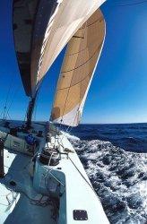 Fototapeta na ścianę - Jacht, Żeglowanie - 115x175 cm