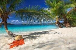 Fototapeta do salonu - Na Tropikalnej Wyspie - 175x115 cm