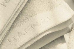 Ręcznik frotte - NAF NAF - Bawełna - Ecrue