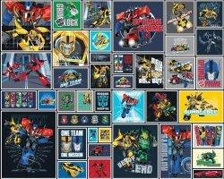 Fototapeta dla dzieci - Transformers Robots - 3D - Walltastic