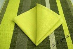 Serwetki na stół - Limonka -  40x40cm - 6szt/op