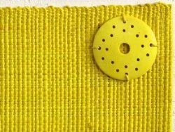 Podkładki na stół - Żółte - Z rafii - 33x48cm (4szt.)