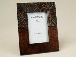 Ramka na zdjęcia - Drewniana - 10x15cm
